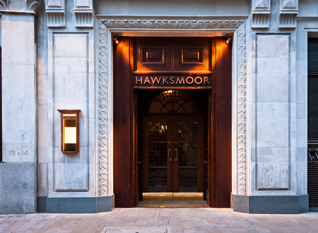 The hawksmoor guildhall restaurant