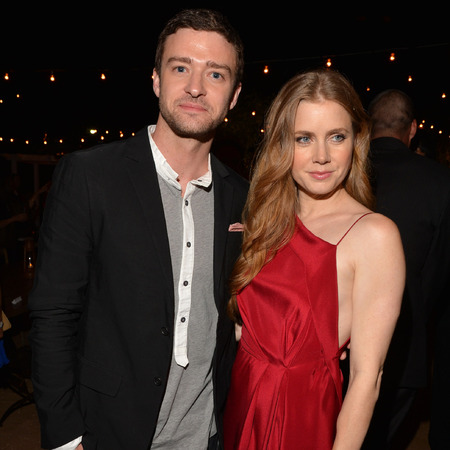 Justin Timberlake and Amy Adams at TWTC premiere