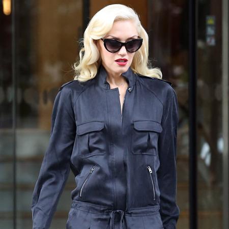 Gwen Stefani does military