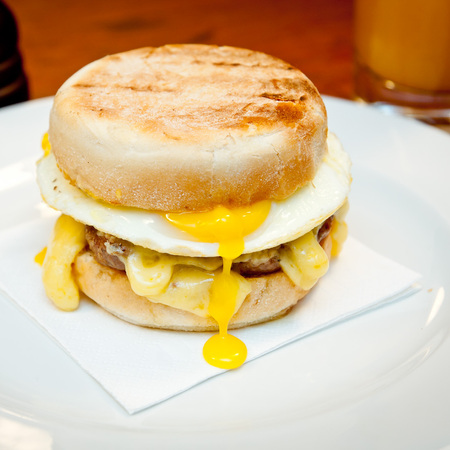 The Hawksmoor hkmuffin breakfast
