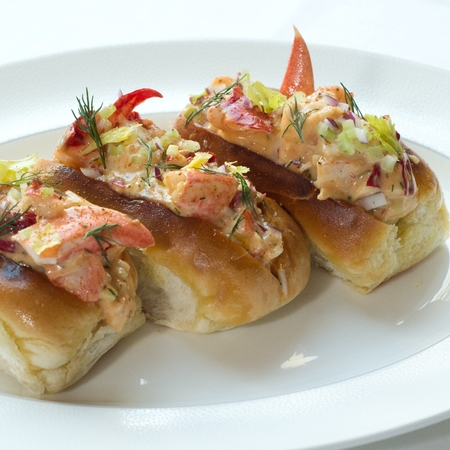 Roux at the langham lobster rolls