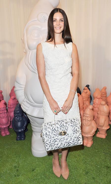 Lana Del Rey Mulberry show London Fashion Week SS13
