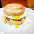 Meaty breakfasts care of The Hawksmoor