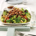 Salad recipe: Tasty duck & sesame seed salad