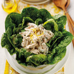 Shake things up with a lemon chicken salad