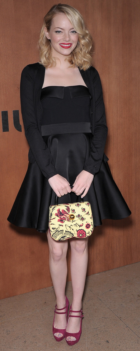 LBD and Miu Miu handbag