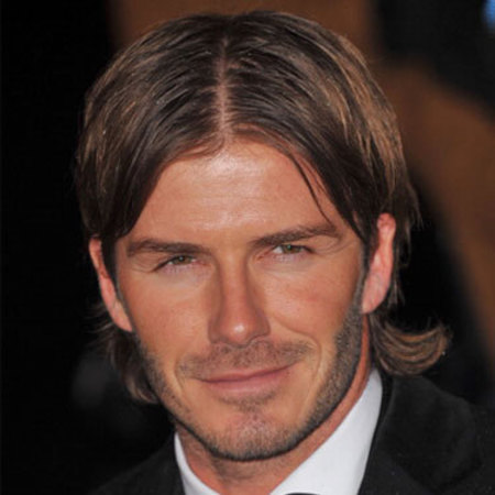 David Beckham's hairstyles - long bob - curtains - men with long hair - celebrity beauty and hair - handbag.com