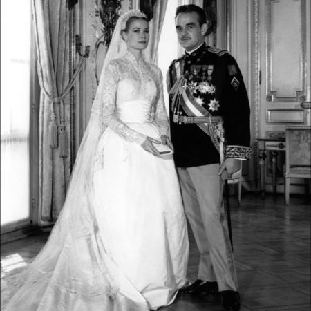 Grace Kelly princess of monoco wedding