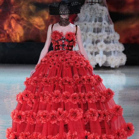 Paris Fashion Week SS13 Alexander McQueen