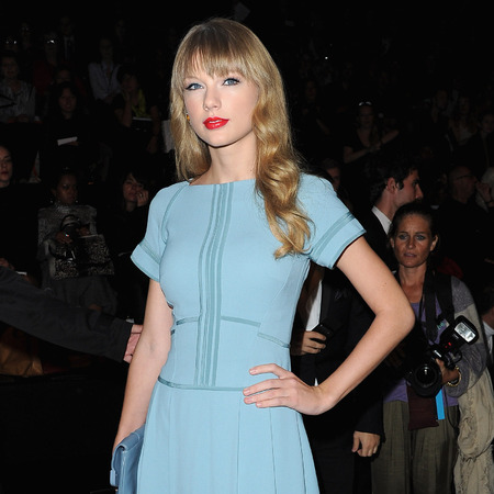 Taylor Swift at Elie Saab SS13