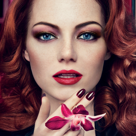 Emma Stone for Revlon Gucci Westman AW12 collection