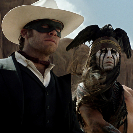 Johnny Depp and Armie Hammer - Lone Ranger