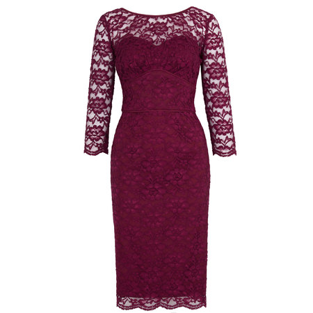m&s lace dress