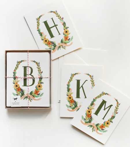 Rifle Paper Co letter cards