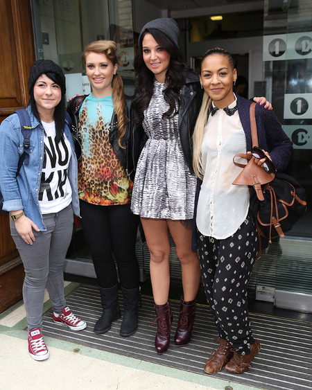 Tulisa and X Factor girls