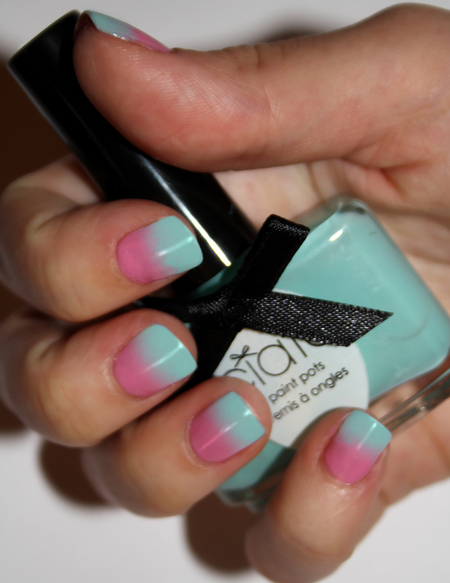 NAIL HOW-TO: Ombré nails with Nail Rock