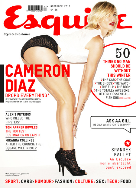 Cameron Diaz Esquire magazine cover