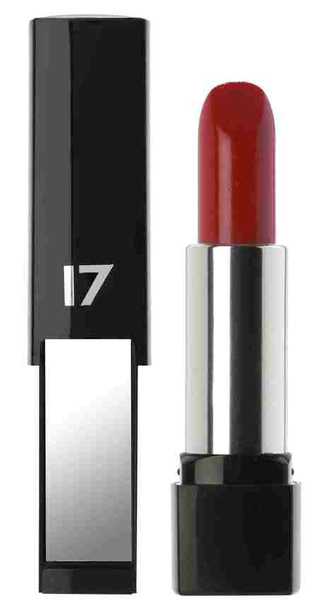 Boots 17 Mirror Shine Lipstick in Roasted Red