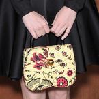 Spotted! Emma Stone's printed Miu Miu