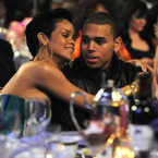 Rihanna and Chris Brown seen kissing?