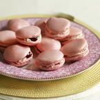 Mary Berry's pink macaroons