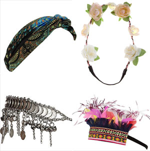 FESTIVAL FASHION: Hair accessories