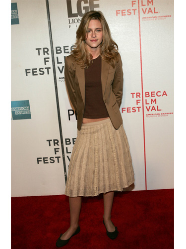 Kristen Stewart at Tribeca Film Festival 2005