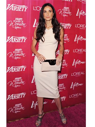Demi Moore wearing Victoria Beckham