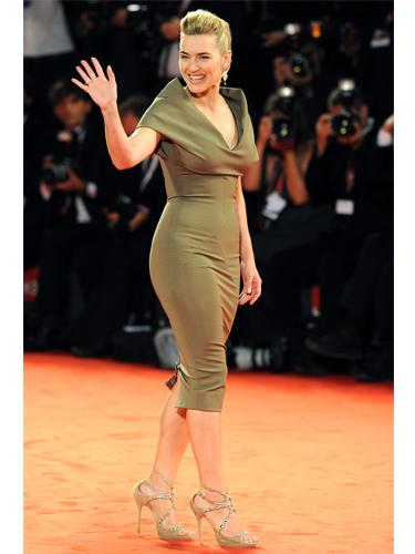 Kate Winslet wears Victoria Beckham dress