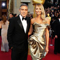 George Clooney denies rumours he's split up with Stacey Keibler