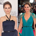 This week's best dressed feat. Kate Middleton & Natalie Portman