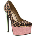 Steal her style: Cheryl Cole's Charlotte Olympia leopard print heels