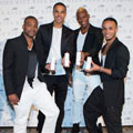 Exclusive video! JLS tell us why Rochelle Wiseman will be wearing their new female fragrance Kiss on her wedding day