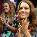 BLOW-DRY BATTLE: Kate Middleton and Kim Sears both do natural bounce at Olympics Day 9
