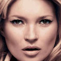 Kate Moss shows off new Rimmel London Scandaleyes Mascara