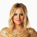 Kristen Bell glistens in gold Reem Acra at the CMT Music Awards 2012