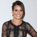 Lea Michele turns to Oscar de la Renta on the red carpet