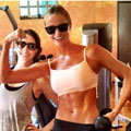 Get amazing abs like George Clooney's girlfriend Stacy Keibler