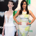 This week's best dressed with Anne Hathaway and Kim Kardashian in white