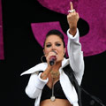 Tulisa dedicates song to her sex tape ex Justin Edwards!