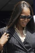 Naomi Campbell blames racism for arrest
