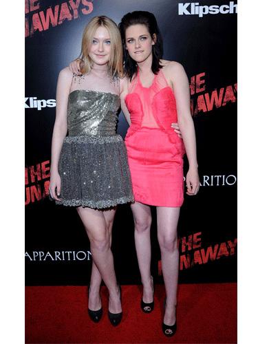 Kristen Stewart at 'The Runaways' premiere, 2010
