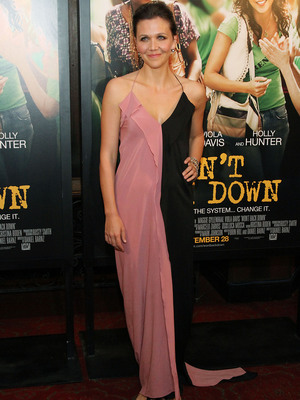 Maggie Gyllenhaal Wont Back Down Premiere New York