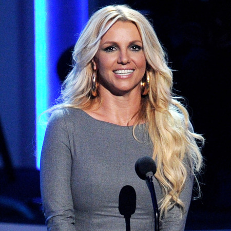 Britney Spears at Whitney Houston event Oct 2012