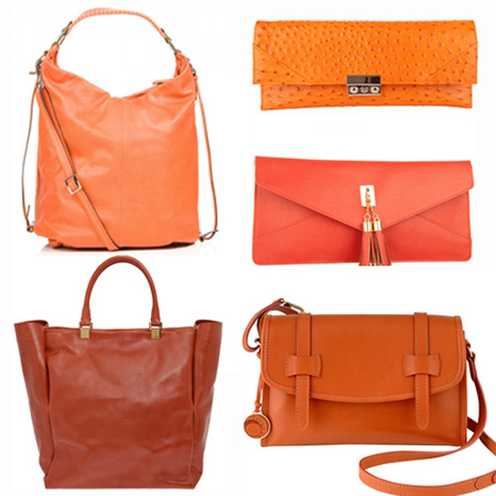 Handbagista shop trend orange - group