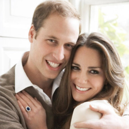 Kate and William's official engagement photo