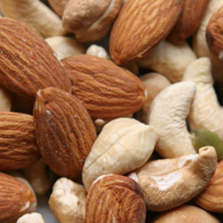 California Almonds are tasty, healthy and perfect for a mid-morning pick-me-up...