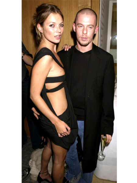 BEST KATE MOSS MOMENTS: With Alexander McQueen