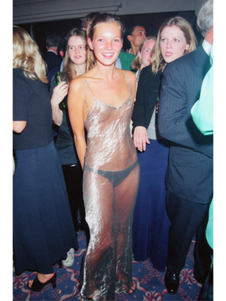 BEST KATE MOSS MOMENTS: The see-through dress