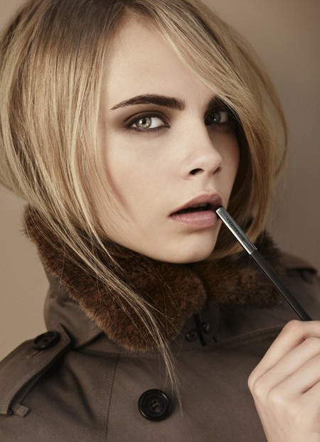 Cara Delevingne for Burberry beauty AW12